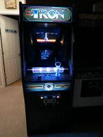 TRON upright arcade game