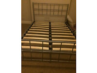 Nice metal double bed frame