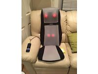 Homedics Shiatsu Electric Massage Chair - Heat and Vibrate Functions
