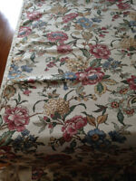 FLORAL UPHOLSTRY FABRIC