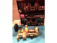 Penn Torque 15 / TRQ 15 Macey Magged ( Rare new / boxed ) Gold Model