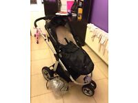 Icandy apple jogger pram pushchair with cosy toes