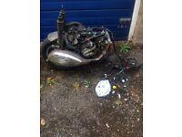 Vespa gts 125cc engine complete Gilera, piaggio, zip, Honda, pcx
