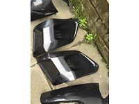 Gilera runner mint gloss black Evo panels