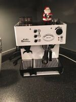 Faema Euro Star expresso with the coffee grinder mint