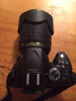 Nikon d5200 18-105mm Kit