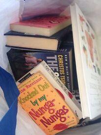 Large bag of books