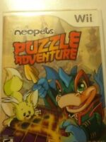 Nintendo Wii Neopets And extreme fishing game