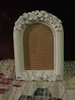 ❀❀❀ Wedding White Shabby Chic Flower Picture Frames ❀❀❀