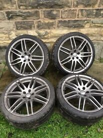 "Genuine RS4 19"" alloy wheels x4"