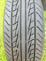 """Set of four 15"""" tiger paw summer tires"""
