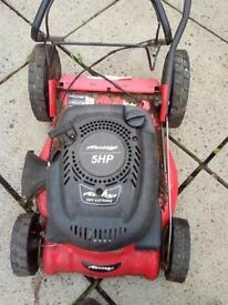 petrol lawnmower spares/ repair