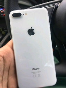 SILVER IPHONE 8+ 64gb - UNLOCKED - in box - BUY OR TRADE