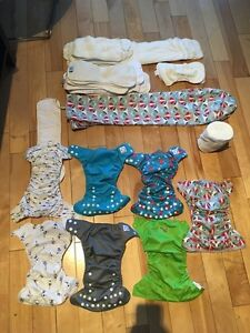 Couches lavable cloth diaper West Island Greater Montréal image 1