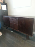 Beautiful solid wood credenza, sideboard, or change table