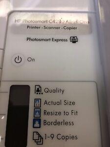HP Photosmart C4280 - Not working