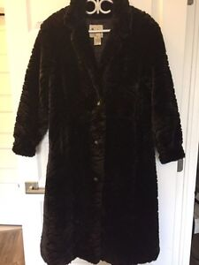 Faux Fur Coat - Niccolini Brand Vintage from 1960's