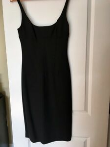 Dolce and Gabbana black cocktail dress size 8