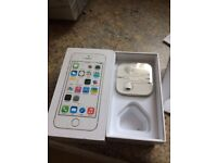 iPhone 5s 16g rose gold and white