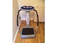 Gym form vibro max, vibro plate. Excellent condition.
