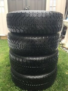Goodyear Winter Tires With Rims OBO!