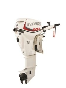 2015 EVINRUDE 15 HP OUTBOARD