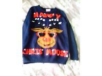 7-8 Christmas jumper