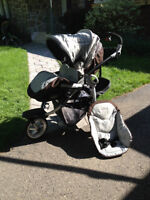 Poussette 3 roues Peg Perego GT3 for Two