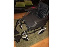Invacare Action 2ng Transit Wheelchair in excellent condition.