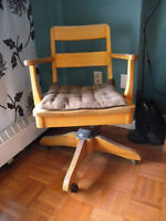 Vintage Desk Swivel Chair