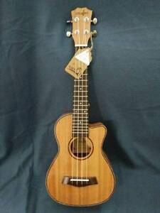 Concert Ukulele Full Mahogany Cutaway Model Free Delivery Sydney City Inner Sydney Preview