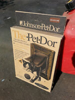 New - Small pet door for pets up to 12 pounds