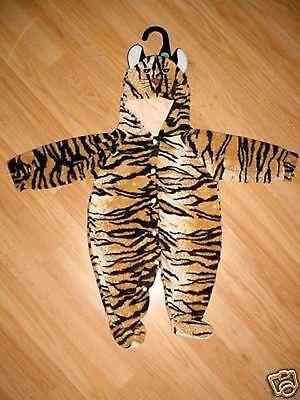 Infant Baby Newborn Girls Boys Halloween Kitty Cat Kitten Tiger Costume~0-6 Mo