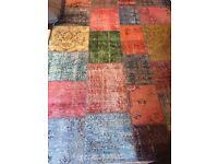 100% wool handmade rug from turkey