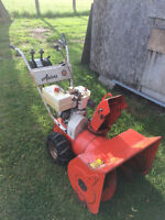 "Ariens 24"" Snowblower, Five Speed"