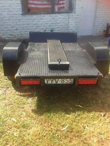 TRAILER WITH RAMPS Melton Melton Area Preview
