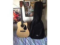 Acoustic Guitar (Godman) With Case