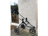Phil & Teds Explorer with Maxi Cosi adapters (frame only)