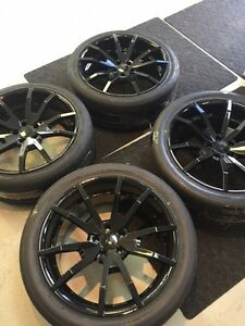 """BRANDNEW OUTLAW 20"""" MUSTANG WHEELS WITH NITTO INVO TIRES!!"""