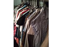 100 women's dresses and tops for sale