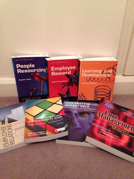 HR Human Resources Books X7