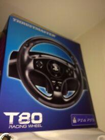 T80 Racing Wheel PS4