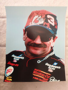 "Dale Earnhardt Sr. 8"" x 10"" Portrait Photo"