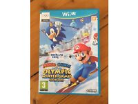 Mario and Sonic at the Winter Olympic Games Nintendo Wii U Game