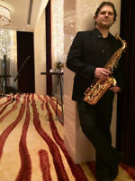 Saxophonist available for events