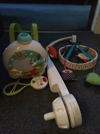 Mamas and papas mobile timbuktales blossom farm projector mother care