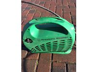 Electric power washer, ideal for car or patio