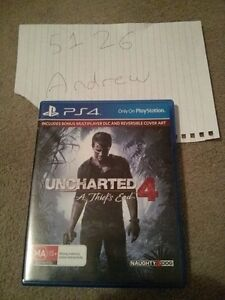 Uncharted 4 for PS4 Fairview Park Tea Tree Gully Area Preview