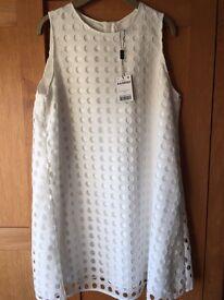 White next dress