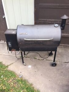 Traeger smoker and grill